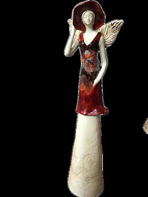 Anioł Cleo - Rękodzieło, ręcznie malowane