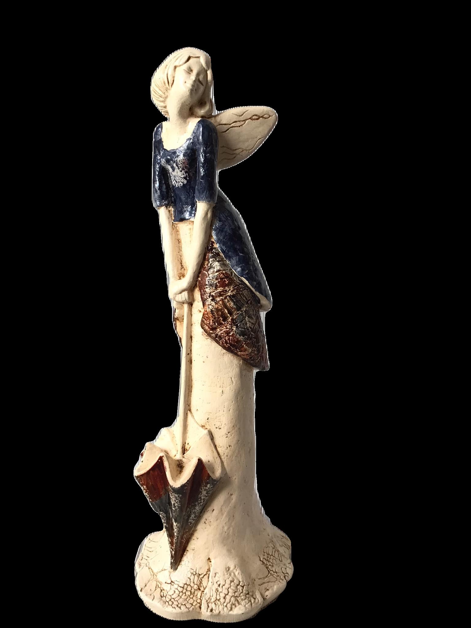 Anioł z parasolką 2a