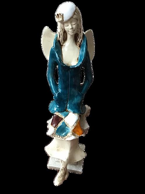 Anioł Klannet - Rękodzieło, ręcznie malowane
