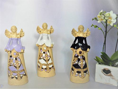 Anioł Dani - Rękodzieło, ręcznie malowany