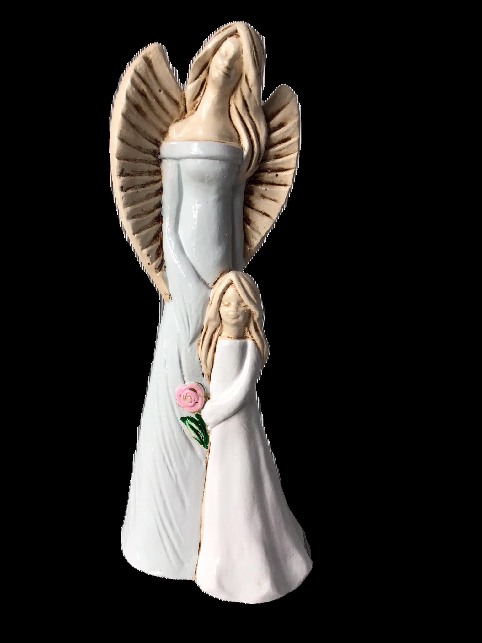 Anioł Matka z córką 1a