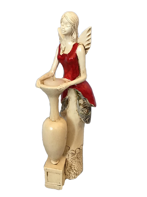 Anioł Sara - Rękodzieło, ręcznie malowany