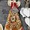 Thumbnail: Anioł Heli - Figurka wisząca - Rękodzieło, ręcznie malowane