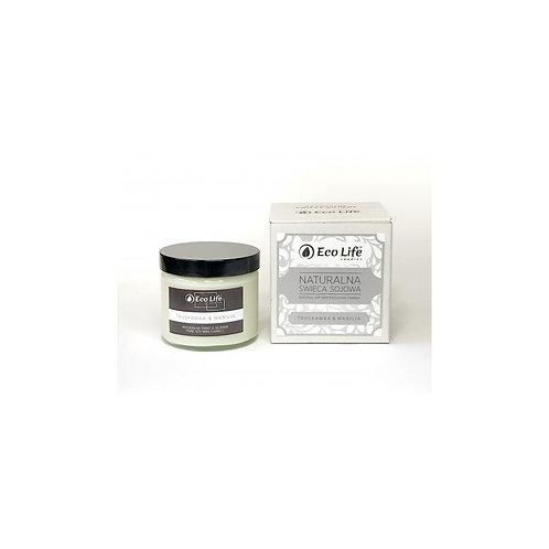 Naturalna świeca sojowa zapachowa Truskawka & Wanilia