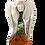 Thumbnail: Anioł Lioli- Rękodzieło- ręcznie malowane