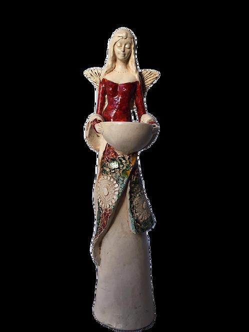 Anioł Kim - Rękodzieło, ręcznie malowane