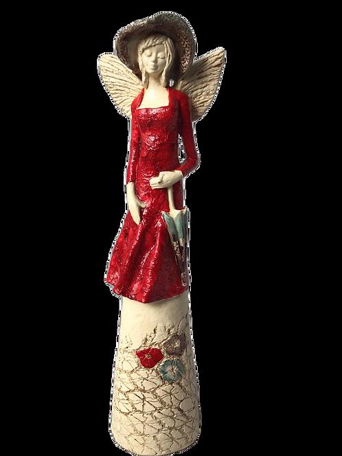 Anioł Oliwka - Figurka dekoracyjna