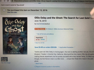 Pre-Order Ollie Oxley and The Ghost!