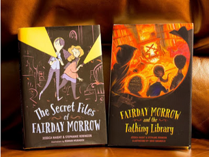 A CHAT WITH JESSICA HAIGHT & STEPHANIE ROBINSON, AUTHORS OF THE FAIRDAY MORROW SERIES