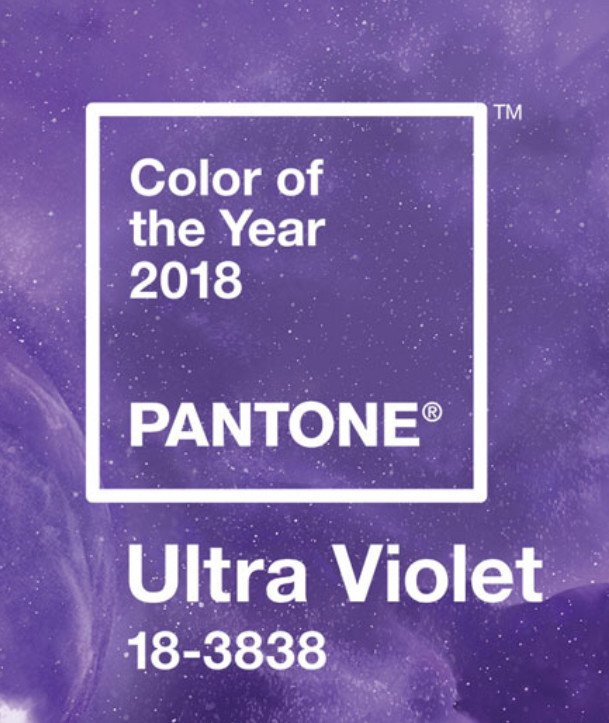 And the Color Trend for 2018 is....