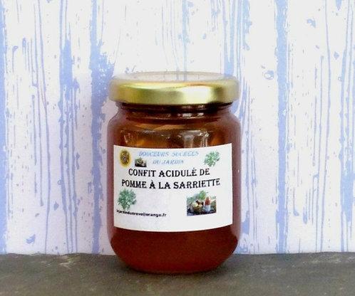 Confit Acidulé de Pomme à la Sarriette