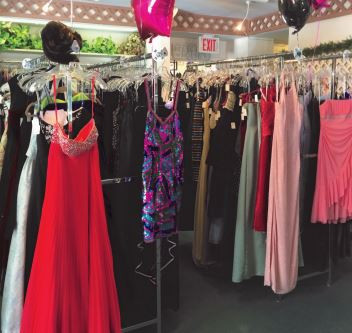 Prom Gowns on the Town