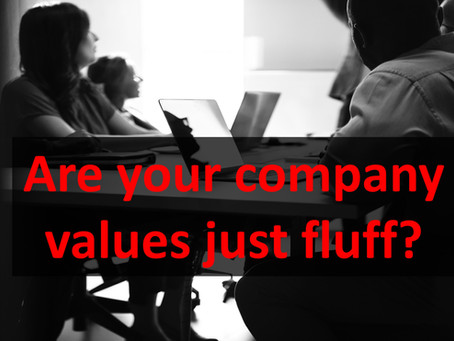 Are Your Company Values Just Fluff?