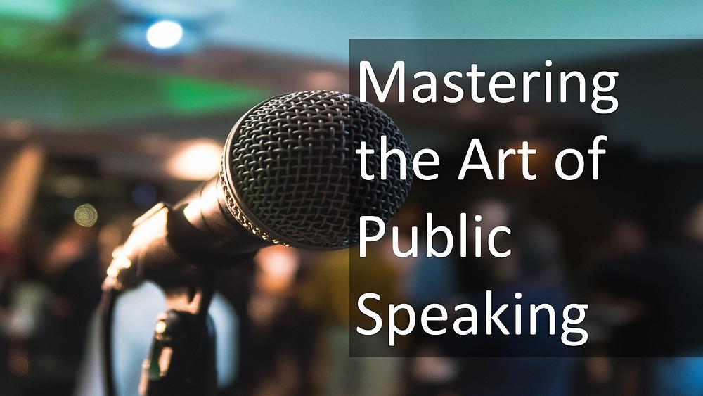 Ashok Miranda Blog: mastering the art of public speaking