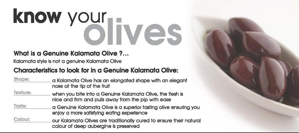 Genuine Mount Ceder Kalamata Olives