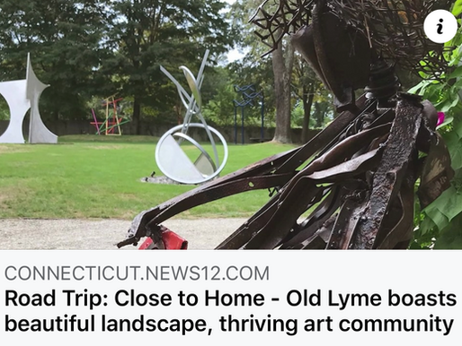 Boro's Studio 80 + Sculpture Grounds Featured on News 12 - Road Trip: Close to Home - Old Lyme