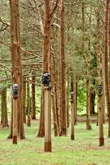 GB Sculpture Grounds Heads on pillars th
