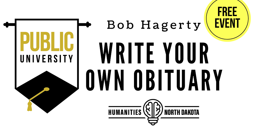 SEPT 19 Write Your Own Obituary