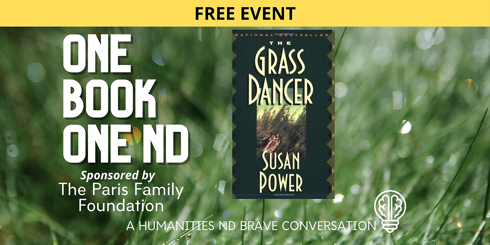JAN 31 ONE BOOK, ONE ND with Mona (Susan) Power