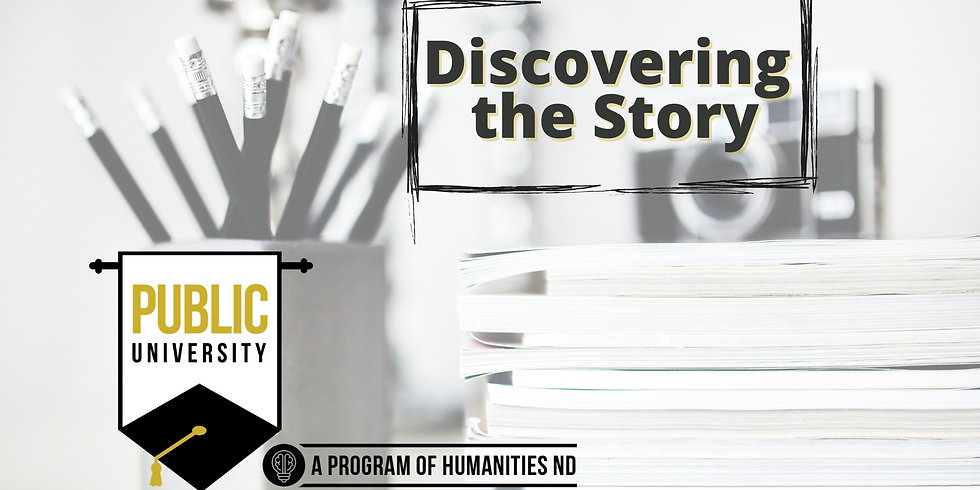 JAN. 19 - Discovering the Story