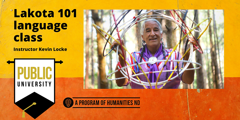 JAN. 14 - Lakota 101