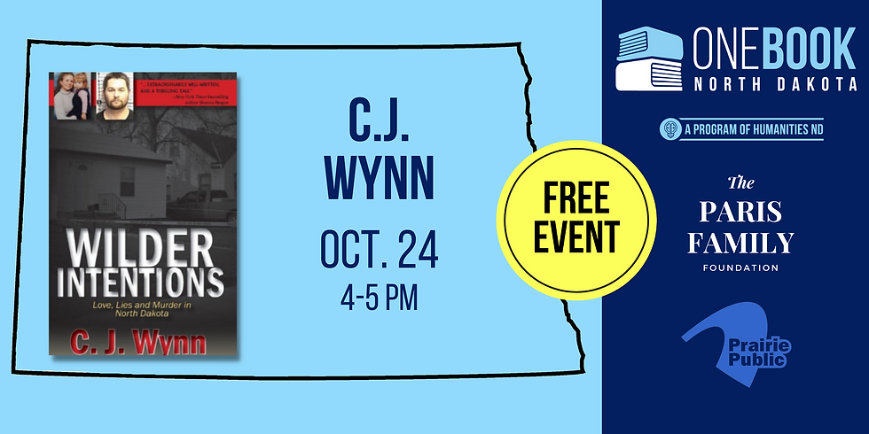 OCT 24 ONE BOOK, ONE ND featuring C.J. Wynn
