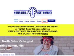 1. Go to humanitiesnd.org