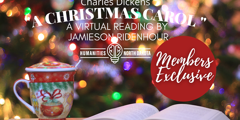 "DEC 11 - ""A Christmas Carol"" virtual reading"