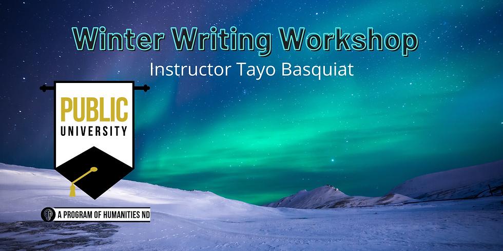 JAN 21 - Winter Writing Workshop