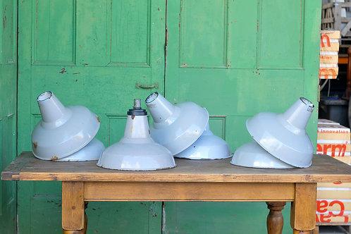 Vintage Grey Industrial Lights