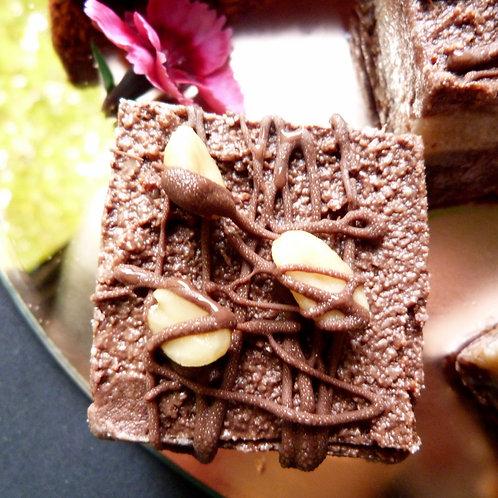 Peanut and Chocolate Slice