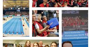 Tous de rouge 🤗 vêtus à Karlsruhe 🤩