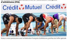 📌Profitez de l'offre spéciale adhérents d'association - CREDIT MUTUEL & FFA