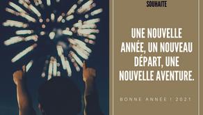 🎉Une nouvelle année, un nouveau départ pour 2021 🥂