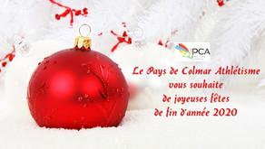📌Le PCA vous souhaite de joyeuses fêtes de fin d'année 2020🎉