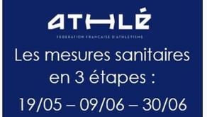 ⚠️ Nouvelles mesures sanitaires en 3 étapes à partir du 19/05/2021