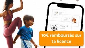 Profites en jusqu'au 11/07 => - 10 € sur ta licence avec GoMyPartner