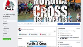 📢Fin des inscriptions ce jeudi 07/11 au Nordic & Cross des Remparts du 10 novembre 2019