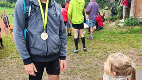 Bravo👏 à Alain Schildknecht 70 ans papi traileur 32 km 💥