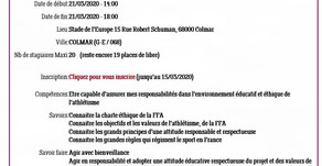 """Formations ➡️ """"Animer et sécuriser"""" (21/03) et le 22/03 ➡️""""Responsabilité et éthique"""""""