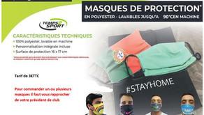 ⚠️Protégeons-nous - Masque de protection ⚠️