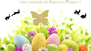 ✔️Joyeuses fêtes de Pâques à toutes et à tous 🐇🐰