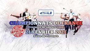Elle l'a fait 🦾 Zoé Schwartz un 2ème titre de championne de France de javelot à Salon👍
