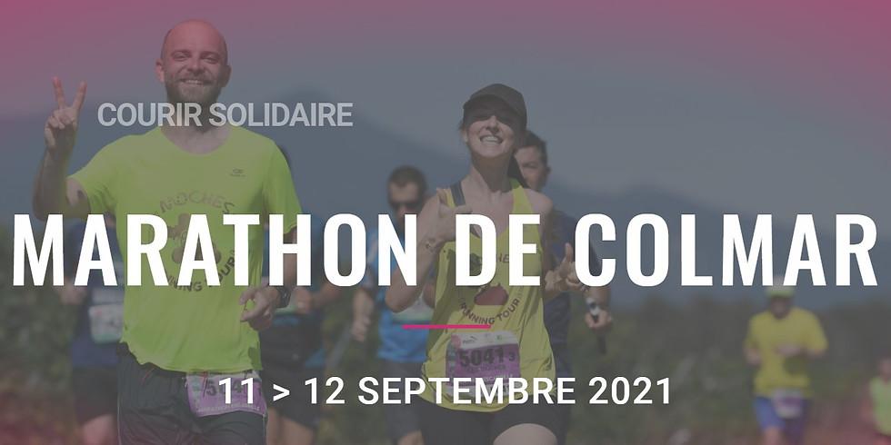 Marathon de Colmar - les 11 et 12 septembre - le PCA  partenaire