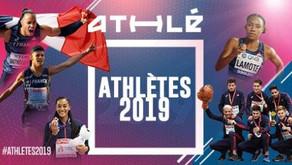 📌Résultats : élisez l'athlète de l'année 2019