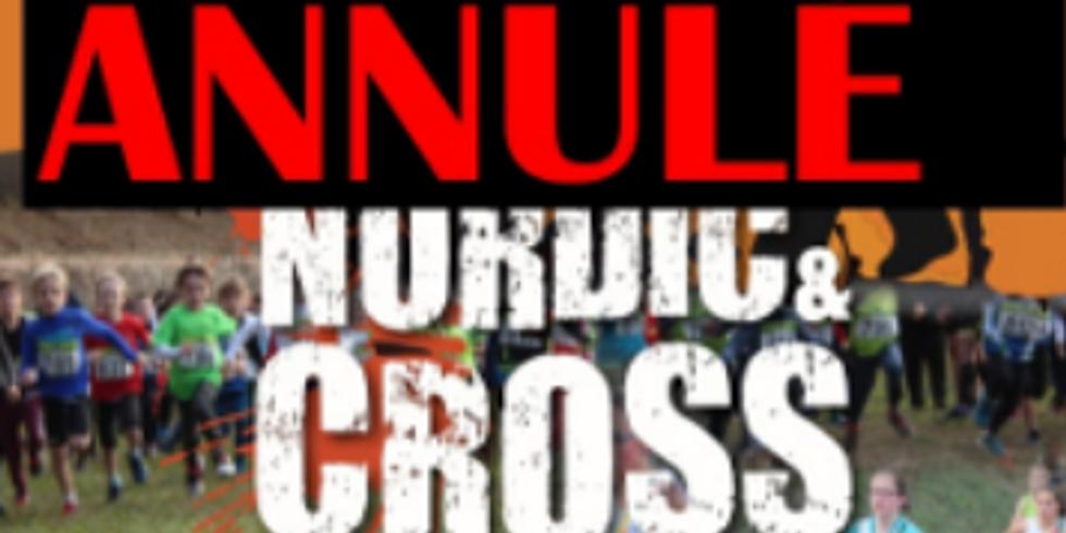 ⚠️ ANNULE ⚠️ Nordic Cross des Remparts