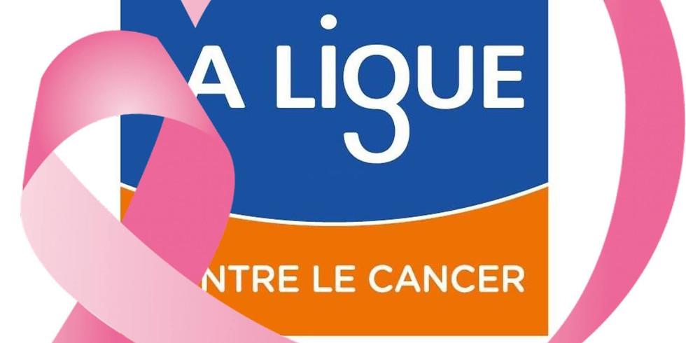 Octobre rose - Ligue contre le cancer - programme du mois