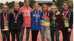 Challenge Equip'athlé à Pulversheim, le PCA termine 2ème équipe avec de très belles médailles 👍