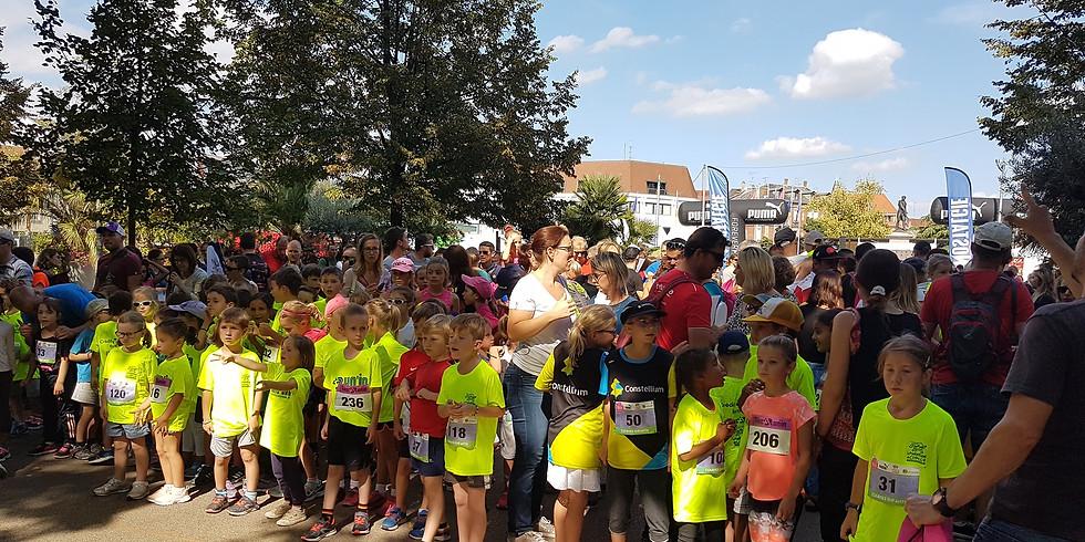 Marathon de Colmar - course pour enfants - ESRCAC en partenariat