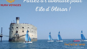 📌Nura Voyages, Partenaire ESRCAC, à  destination de l'Ile d'Oléron en Septembre !